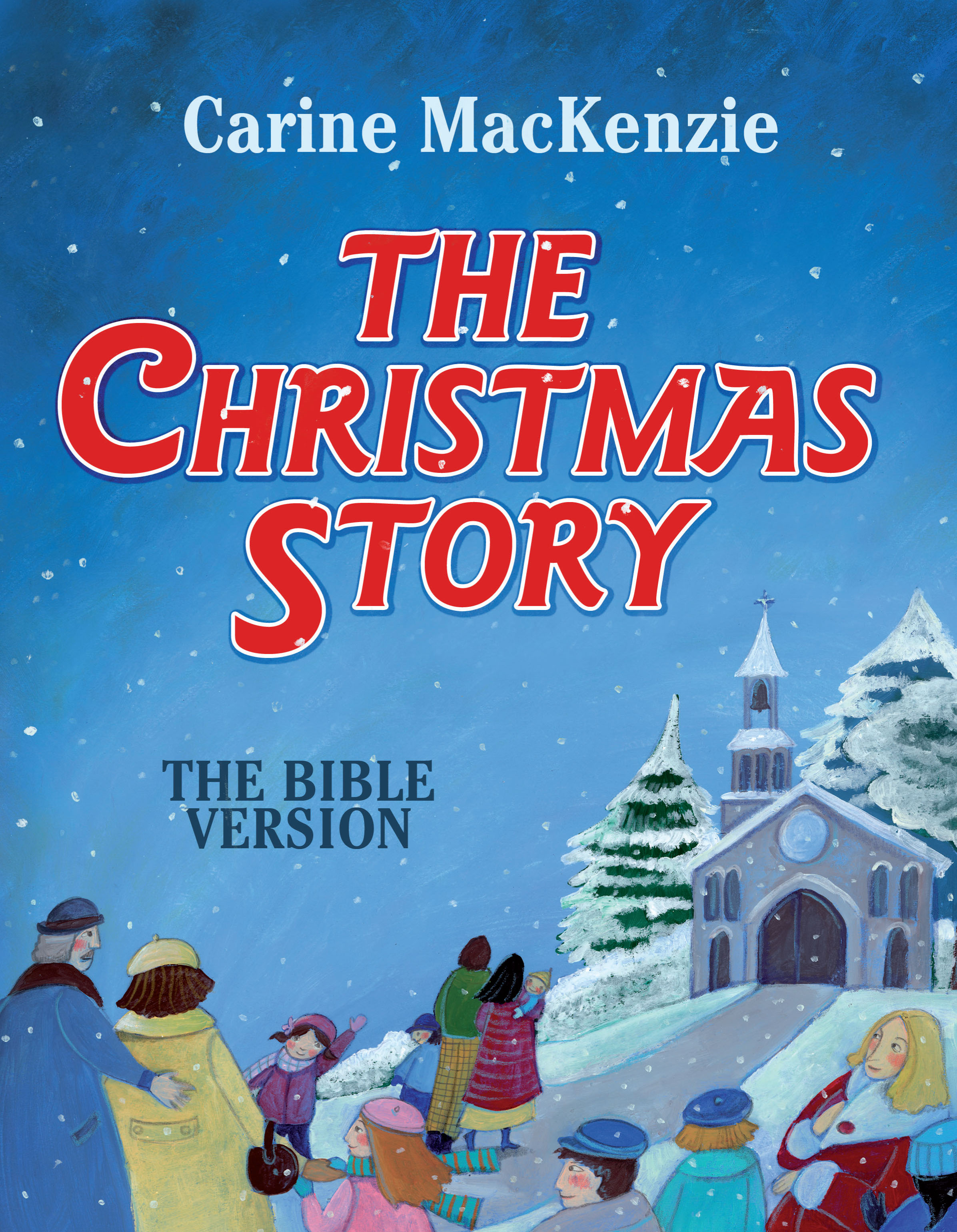 Christmas Story From The Bible.The Christmas Story The Bible Version By Carine Mackenzie